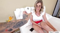 Cheating stepmom anally fucked by son