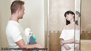 Amilia Onyx in Wet T-Shirt Leads to Big Dick Massage Sex