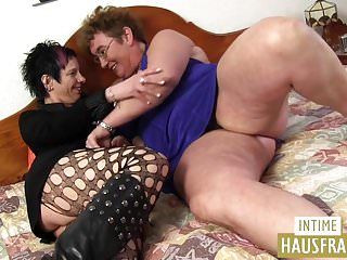 Old women young girl lesbo tubes - Milf with old girl lesbo action