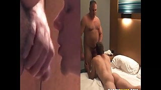 Step Dad fucks straight street dude and makes him moan