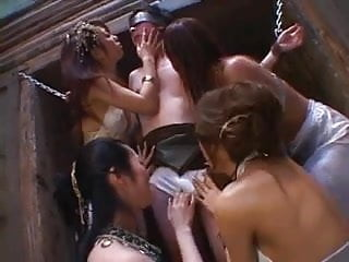 Japanese women upskirt - Unlucky man tied up and dominated by japanese women