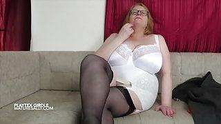 Sally lovers her girdles