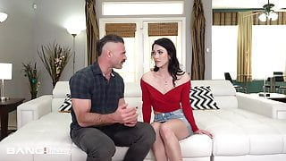Trickery - Teen Fucks Other Dude To Make Her BF Jealous