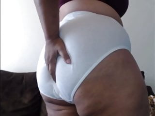 Sex in hanes pantyhose White cotton hanes granny panties on milf