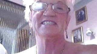 My MILF Exposed granny in black stockings