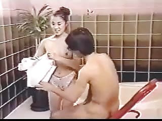 Asian film only sex - Bathhouse scene from vintage asian film