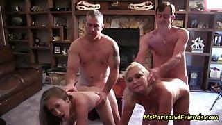 One Big TABOO Family Orgy
