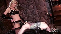 Femdom Empire Strap-on blonde