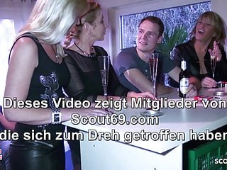 Sex reversal in guppies Party reverse group sex from 3 german milfs with young guy
