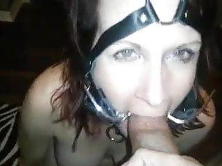 Bondage slave films Bondage slave gets cum in mouth