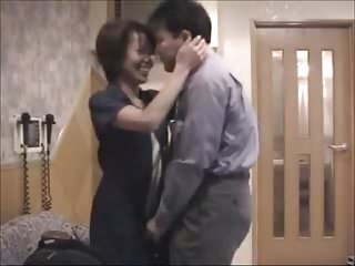 When boys lick their lips - Japanese couple when boys at school homemade
