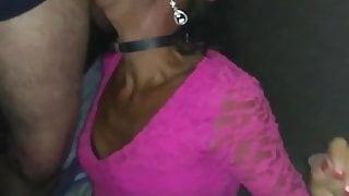 tiffany tgirl outdoors sissy dogging forest & multiple men 1