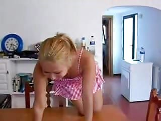 Teens pee on teens - Amateur - hot blond teen pee on own face