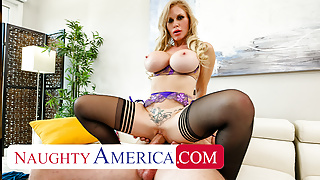 Naughty America - Casca Akashova needs help in the house