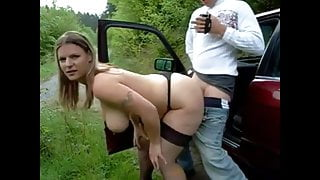Chubby wife gets creampie