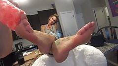 Sock Showcase - Vol 3: The Footsie Cowgirl HD PREVIEW