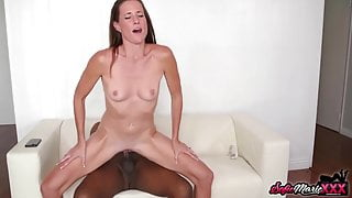 Kinky Top Class MILF Sofie Marie Rides BBC After Slow Oral