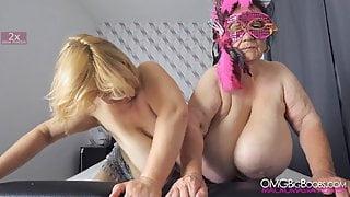 ssbbw grannies - M cup and J cup