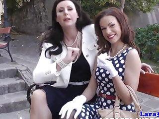 Mature women pen pals tampa florida - Nylon fetish mature spanking her petite pal