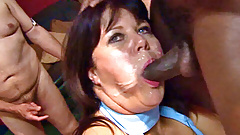 Mature British amateurs love the cock