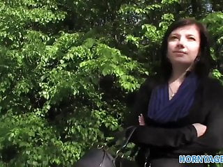 Innocent young upskirts Hornyagent innocent young woman fucked in the bushes