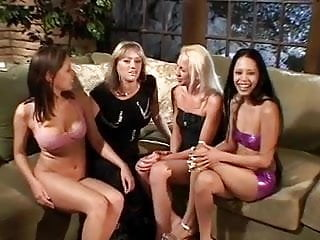 Lesbian sex live videos - Group of gorgeous babes have steamy lesbian sex in the living room