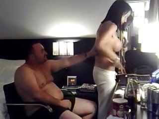 Fat escort Fat guy fucks hot escort in hotel room