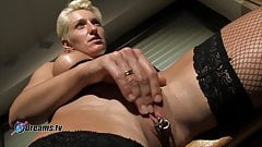 Bianca Teases Her Hubby With Jerking Off Games