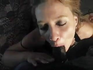 First tim suck slut load Slut sucking bbc and taking the load on her face