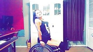 Wheelchair dancer