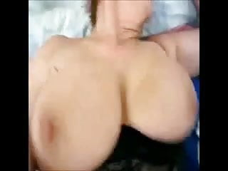 Girls getting breast fucked Granny with big dancing breasts gets fucked