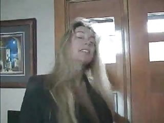 Busty fuck wife - Blonde busty wife get home fucking and facial