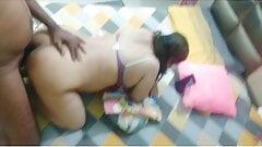 Saavi Bhabhi Hardcore Ass fucking by her boyfriend