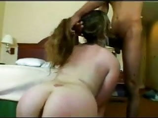 Swallow black cock cum Horny fat chubby ex gf riding black cock, swallowing cum-2
