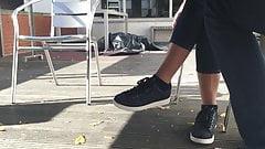 Скрытые кроссовки №4 - блестит (лицо)