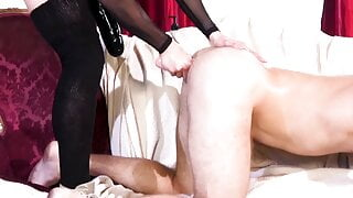 Kasey Warner Destroys His Asshole With Deep Pegging And Fist