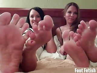Bikini her hers ours their us yours Let us rub our little feet on your big hard cock