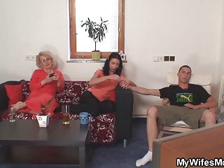 Sister inlaw fuck pics He doggy-fucks wifes blonde mother inlaw