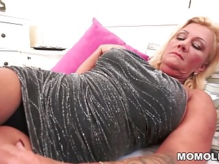 Young hairy cock Hairy granny pussy vs young cock