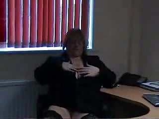 Office chairs midget - Big titted blonde bbw dildos in office chair