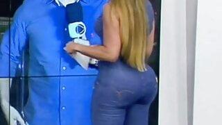 Silvye Alves a reporter mais gostosa do Brasil
