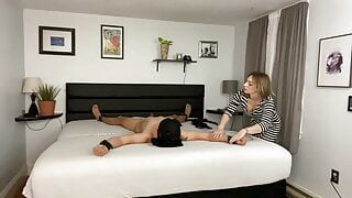 She teases him .. may she allow him to cum?