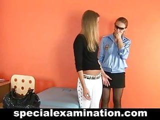 Doctors fetish exam sex toys Hot blonde gets gyno exam
