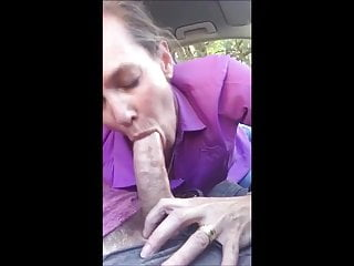 Cock deep in throat - Married milf struggles with stranger cock in throat