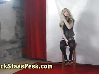 Casting erotic - Backstage erotic photoshoot with czech amateur couple