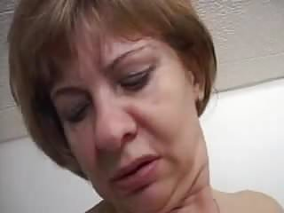 Dick whore young - Mature old whore rages behind a young dick.