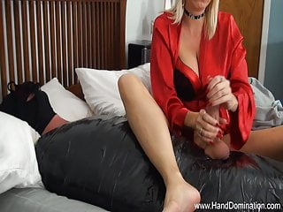 Wife sex videos posting Dominant women use defenseless cock for sex with post orgasm