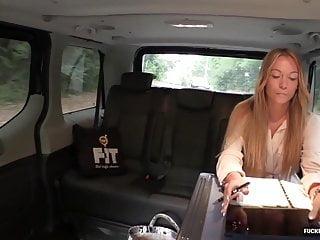Bikini christine lakin - Fuckedintraffic - angela christin gets fucked in a van