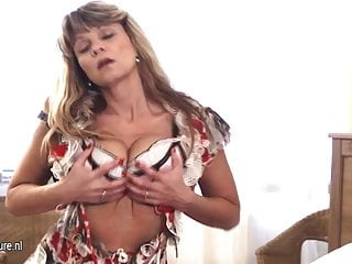 Wet hot milf Hot milf gets wet and wild on her own