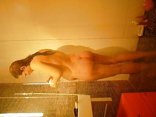 Italian sex in shower Pregnant italian wife in shower